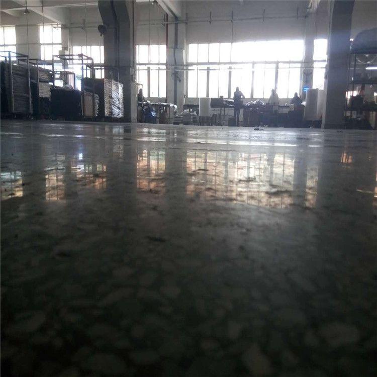 惠州水磨石地坪处理-陈江水磨石硬化地板