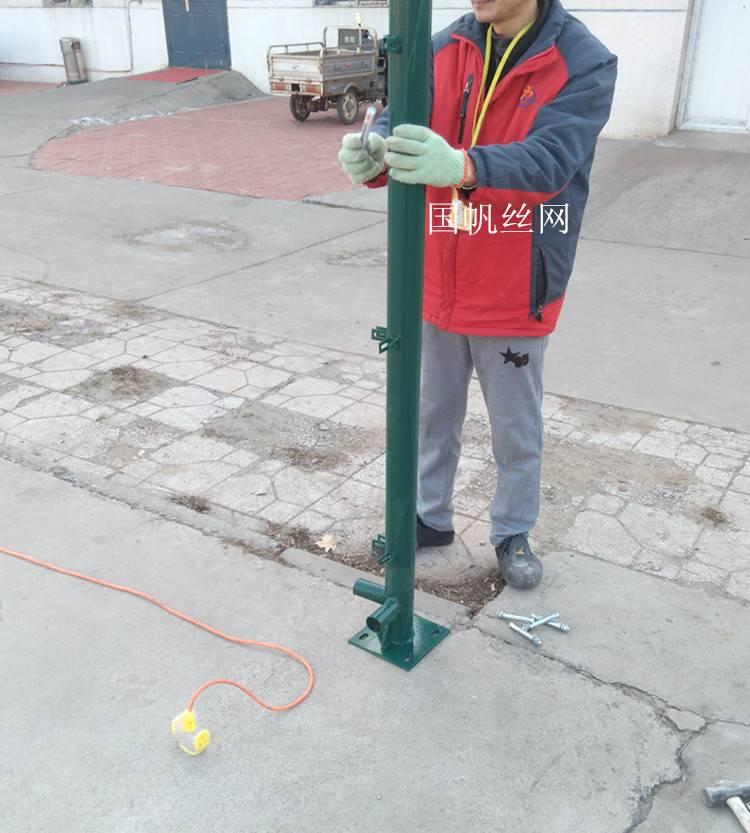 销售篮球场围栏网 (国帆)篮球场围栏网现货
