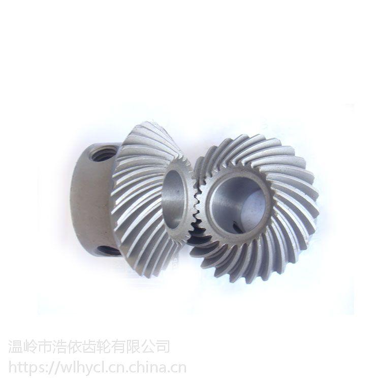 2018厂家直销水喷高精1:1纺织机螺旋齿轮伞齿轮