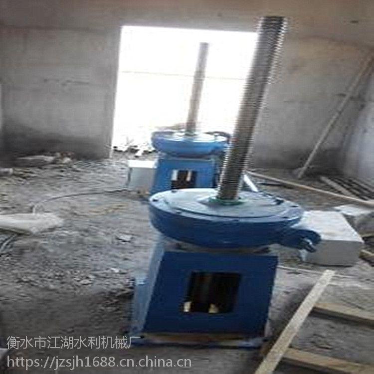 常德闸门 厂家供应 QL-30KN双吊点螺杆式启闭机 铸铁闸门|专用 3吨双吊点启闭机