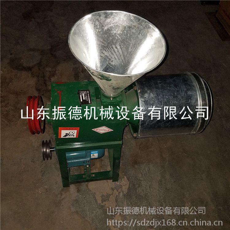 新型小麦面粉磨面机 粮食加工打面机 电动磨面机 振德热销
