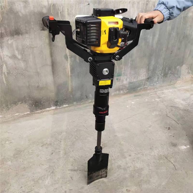 便携式铲头挖树机 小型家用汽油移栽机 启航冻土移苗专用起苗机
