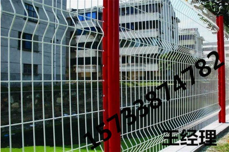 桂林 浸塑 浸塑护栏 U型柱护栏网 铁路围栏 多少钱