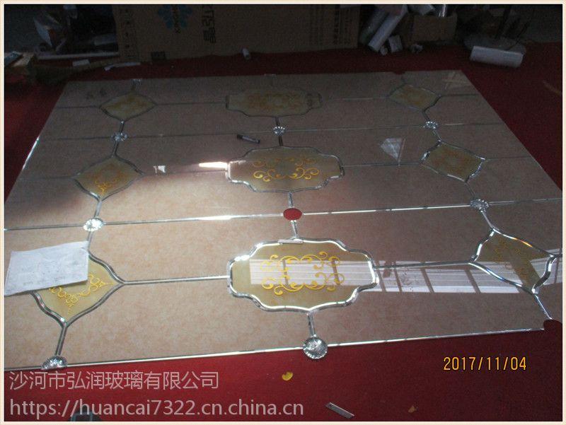 厂家直销拼镜背景墙镜砖艺术玻璃 玄关KTV背景墙