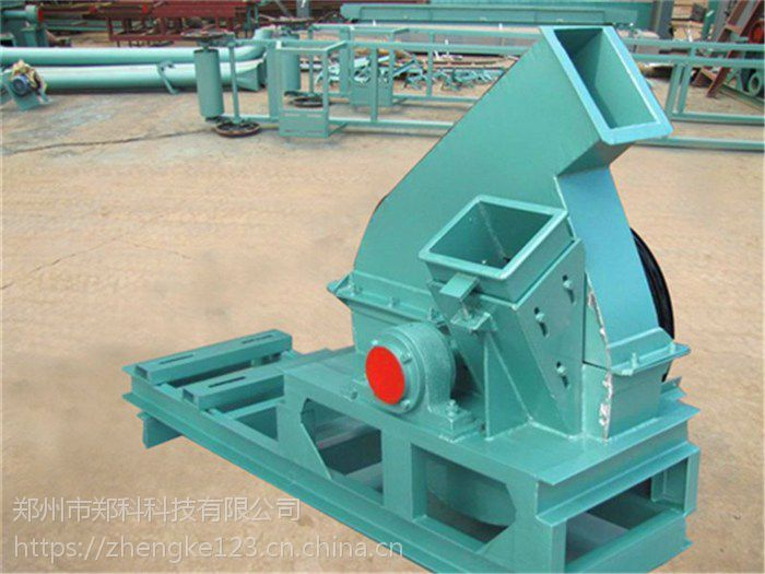 湖北武汉郑科950型高速盘式木材削片机高效节能