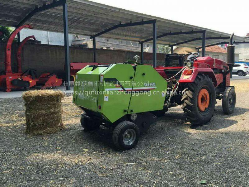 稻草捡拾打捆机生产厂家 小麦玉米秸秆捆草机性能