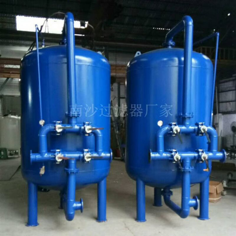 现货出售直径1.4米碳钢罐内刷环氧防腐多介质机械过滤器清又清厂家