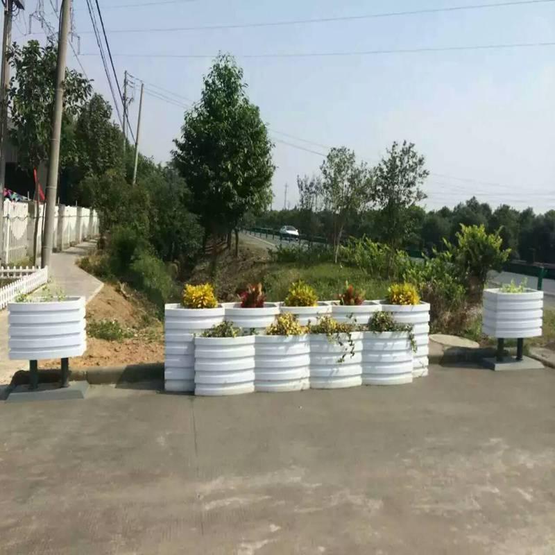 武夷山市园林花箱厂家销售,街道花箱大量现货,新品