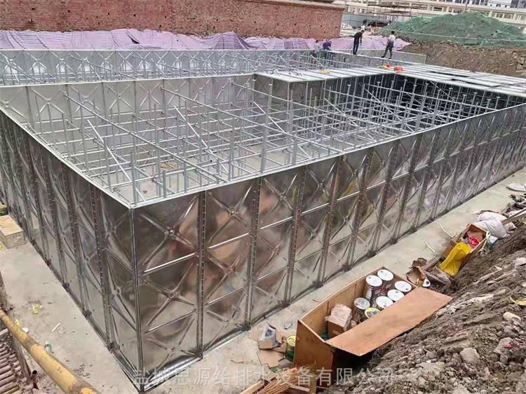 抗浮式地埋箱泵一体化大模压块消防增压给水设备