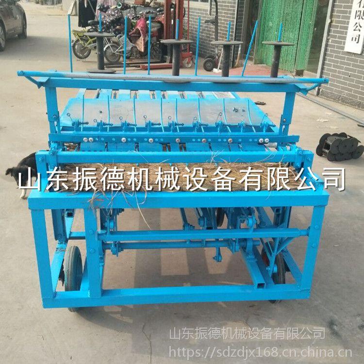 生产制造 秸秆稻草编织机 多功能家用草帘机 全自动草席机 振德