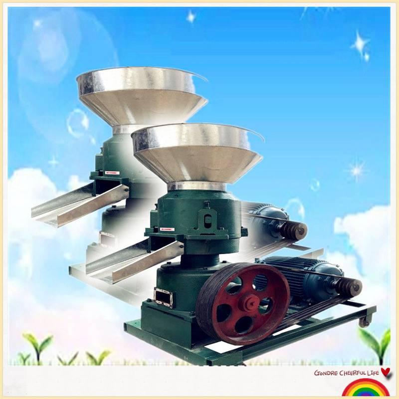 挤压式颗粒饲料机 环保好用的颗粒机 猪饲料制粒机