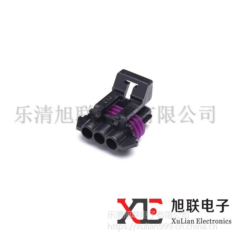 供应优质汽车连接器德尔福12162144接插件/护套4芯现货