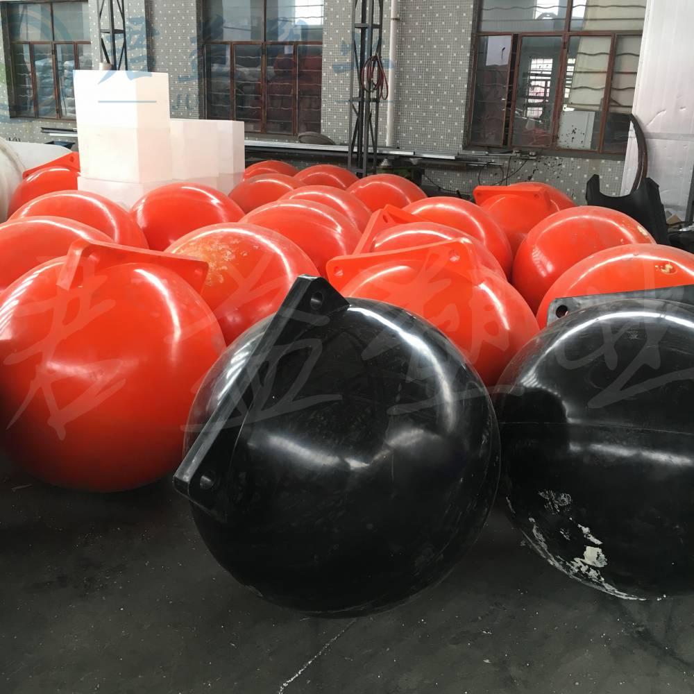 君益耐冲击浮体 一体成型直径1米塑料浮球