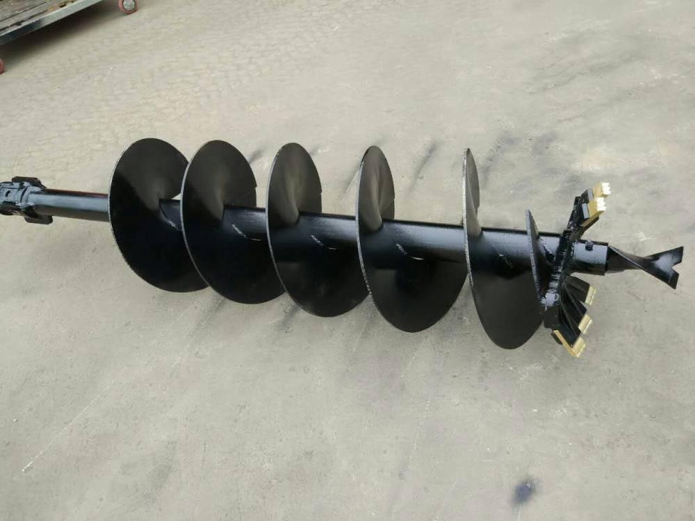 厂家热销挖掘机配套螺旋钻孔机 电线钻坑机 钻坑机 厂家现货 定金就发货