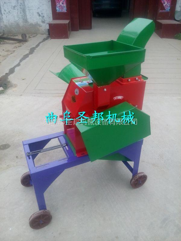 山羊养殖专用造料铡草机 多功能铡草机