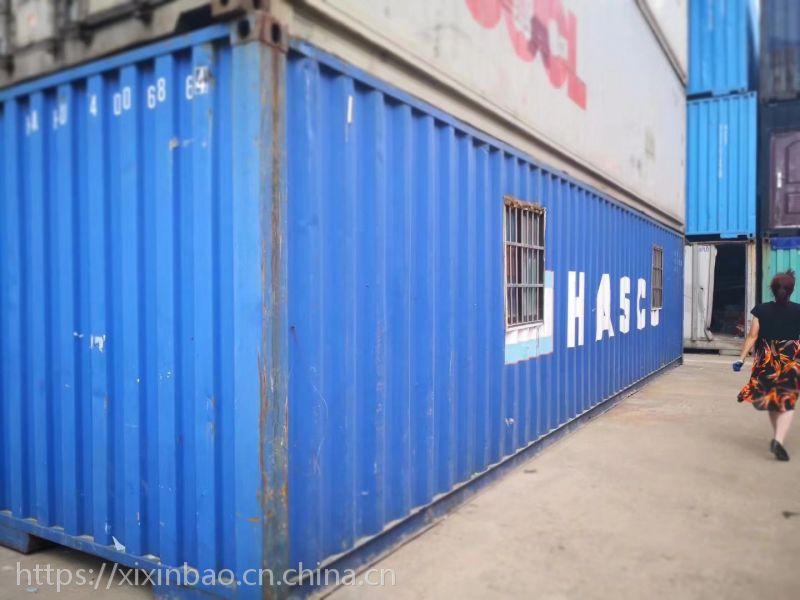 上海便宜出售二手集装箱,精装修集装箱活动房