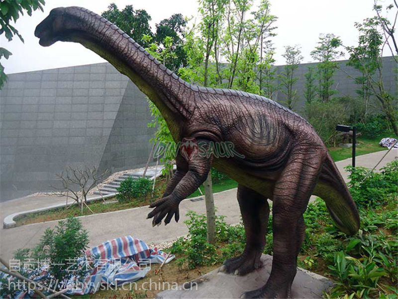 公园恐龙树脂雕塑|户外园林景观美化工程