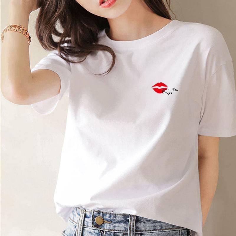 河北去哪里女装T恤批发尾货纯棉女装T恤批发韩版女装T恤厂家直销