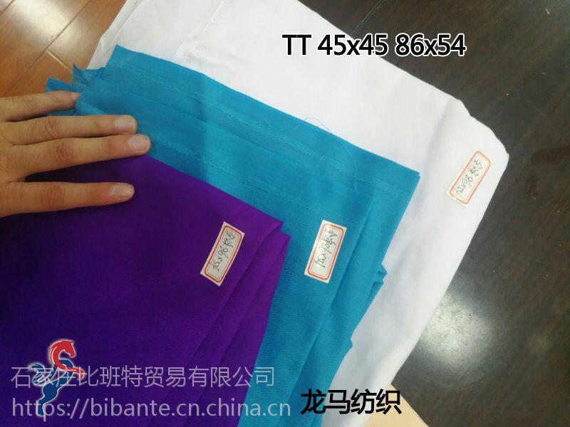 全涤仿大化坯布 纯涤口袋布100克 剑杆毛边品质 出口100%涤纶 45x45 110x76 63寸