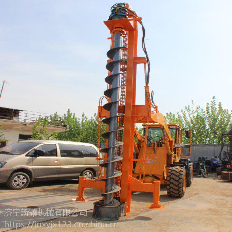 民用建筑公路护栏打桩机,通化两用打桩机厂家直销