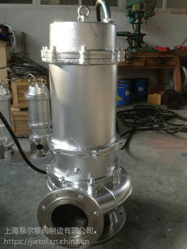 QW系列潜水排污泵40QW8-18-1.5厂家直销,自吸排污泵厂家