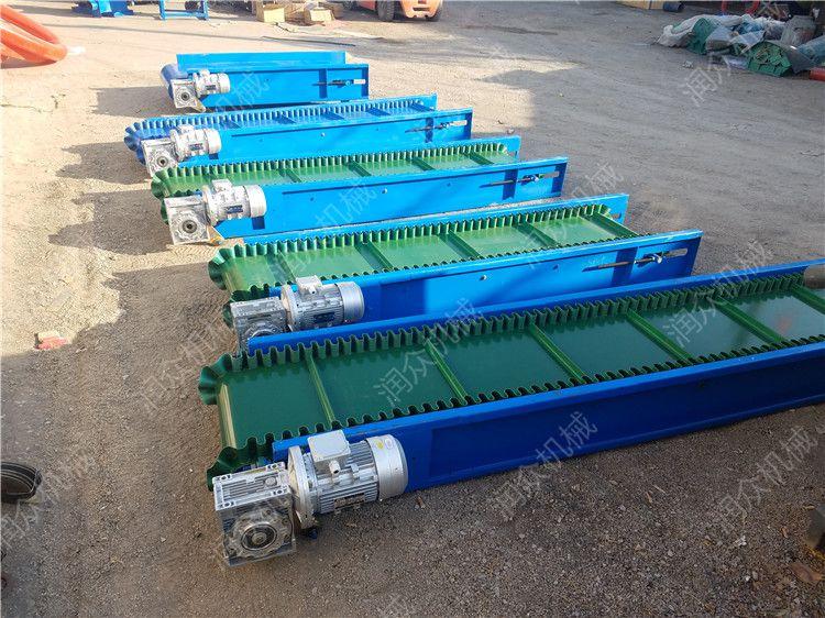 化肥厂袋装皮带输送机 润众定制螺旋管式输送机 食品级环保皮带机