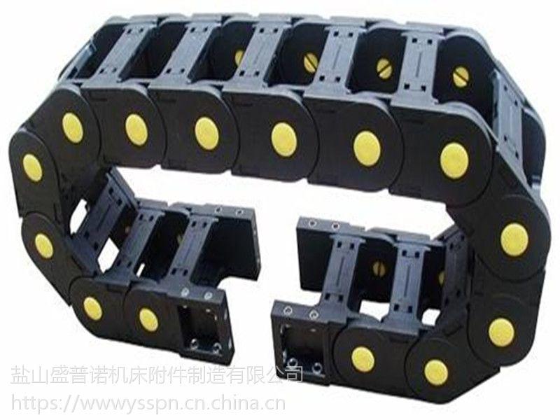 沧州盛普诺厂家直供塑料拖链桥式工程拖链