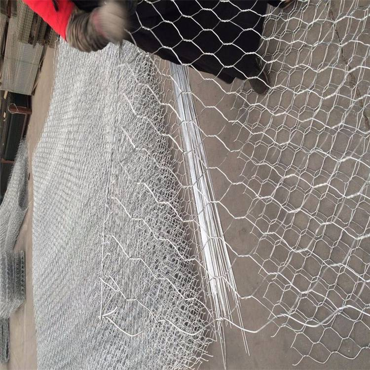 护岸双绞和格宾网 格宾网材料 雷诺护垫加工