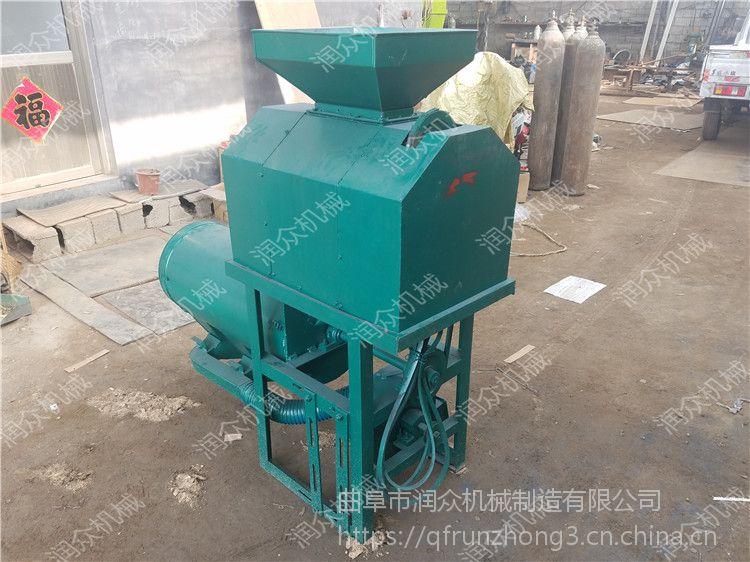 大型加工玉米制糁机 润众 脱净率干净玉米制糁机