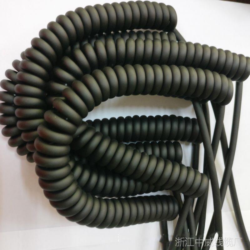中威牌10平方弹簧线电梯升降机用 航空机舱分散用螺旋线中威制造