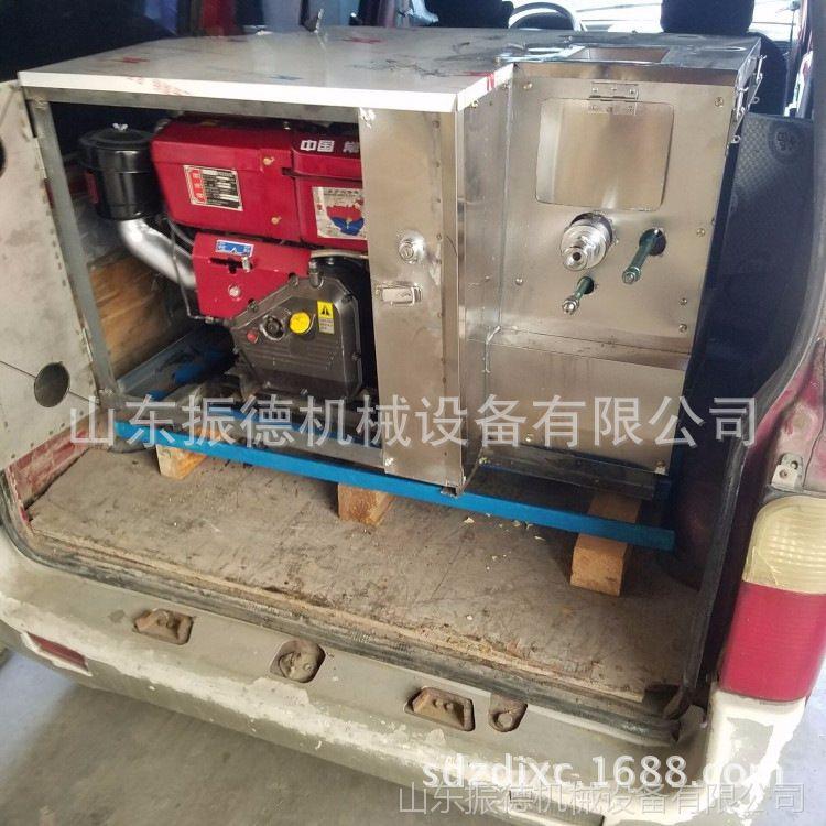 车载大米膨化机四川直供畅销高耐磨谷物玉米膨化机 振德 空心棒机