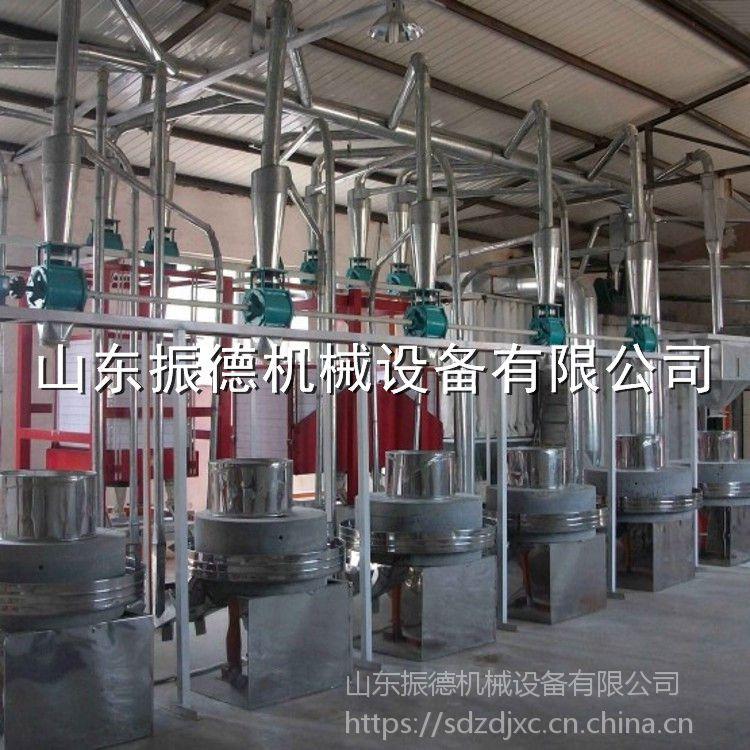 原生态面粉石磨机 直径60cm的面粉石磨机 专业加工定做 振德