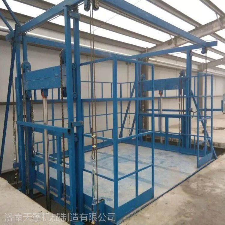 防城港液压升降货梯,厂房,车间SJD导轨式升降货梯特点