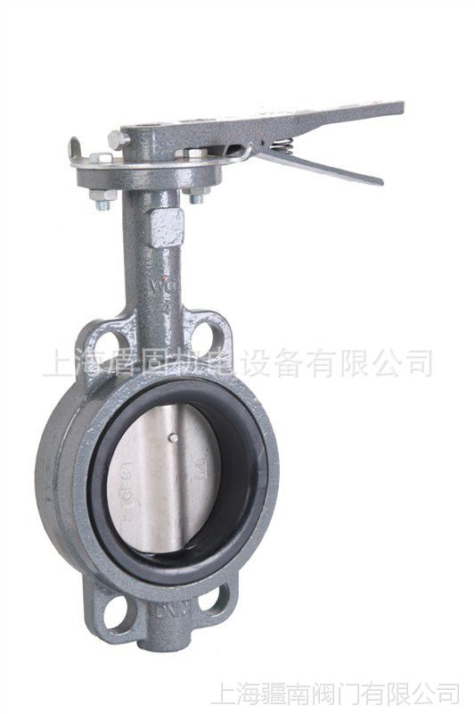 D71X-16Q手动蝶阀 污水柴油介质用对夹手动软密封蝶阀 型号D371X