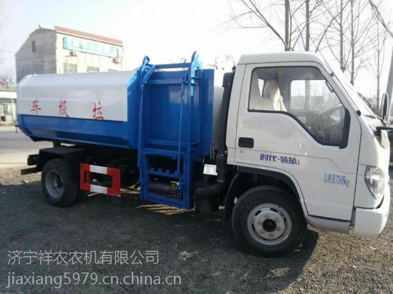 出售东风挂桶式垃圾车侧挂桶了解运输车