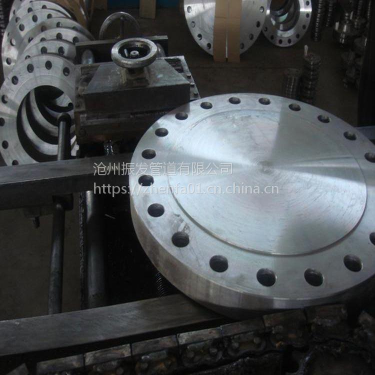 盐山大口径碳钢法兰厂家 大口径碳钢法兰标准