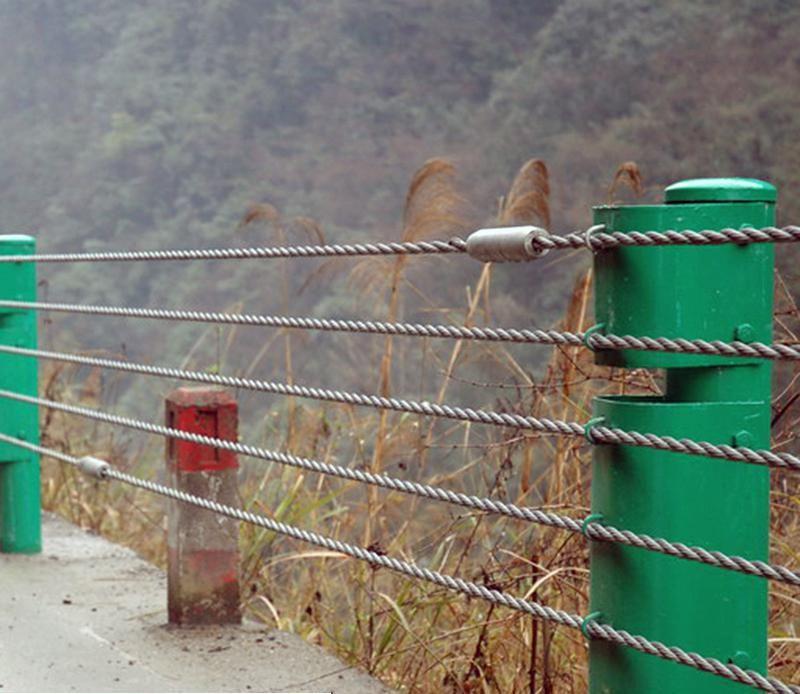 景区缆索护栏厂家@缆索防撞护栏@景区防撞护栏厂家