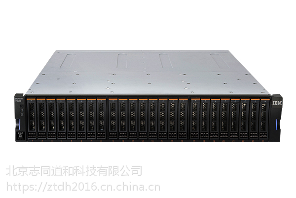 IBM V3700 双控制器小盘存储柜ISCSI+Mini SAS 标配无硬盘