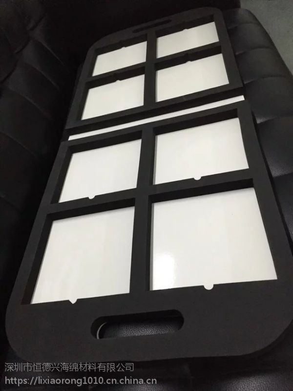 工具箱海绵EVA防震抗压挖孔填充内衬开模异形硬海绵