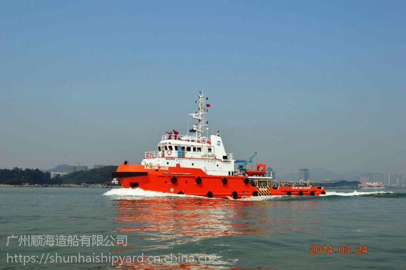 顺海设计建造40M多用途工程船,SH131