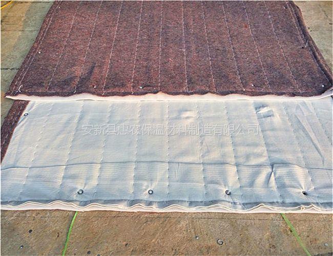 和龙蔬菜大棚保温棉被生产
