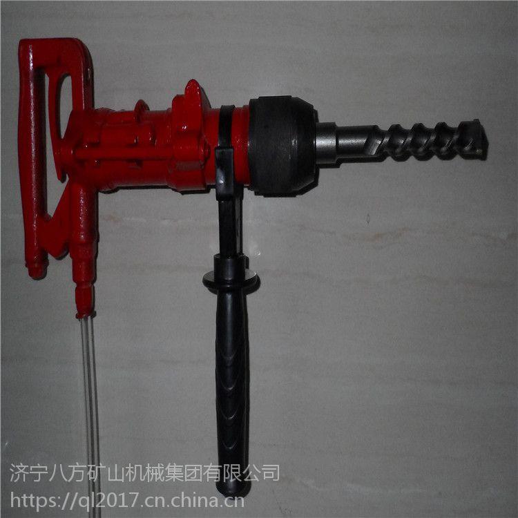 QCZ-1气动冲击钻 一 产品概述: 气动冲击钻是轻便灵巧的小型气动工具,具有冲击回转,单纯
