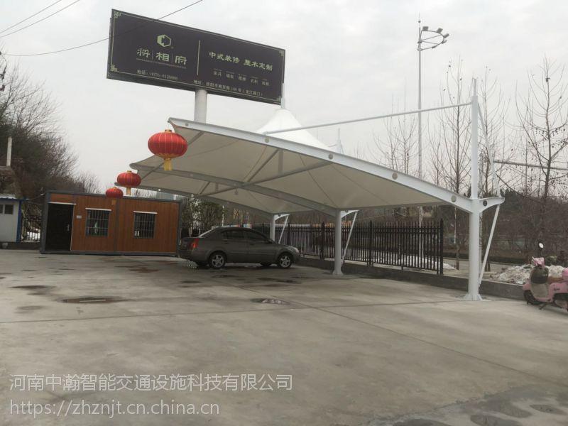河南优质膜结构车棚厂家,膜结构车棚制作安装