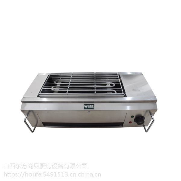 商用休闲食品加工机械山西金铁匠电烧烤炉