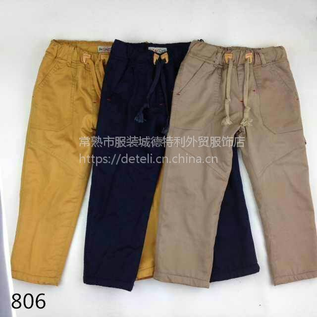 江苏儿童裤子男童、欧美儿童装、男童冬季棉裤,童装裤子、现货可批发、