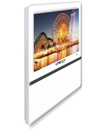 中创联合车载19寸广告机 壁挂超薄网络控制广告机 餐厅广告机