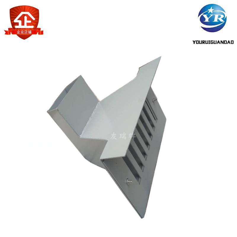 友瑞牌方口雨水斗定制DN150 碳钢材质雨水斗生产厂家