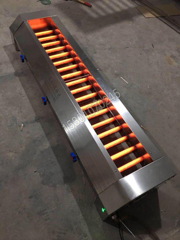 燃气中间火管子加热合金金属管烧烤箱