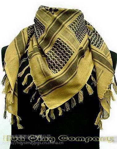 中东特色全棉提花头巾Arabia pure cotton kerchief / 阿拉伯全棉头方巾