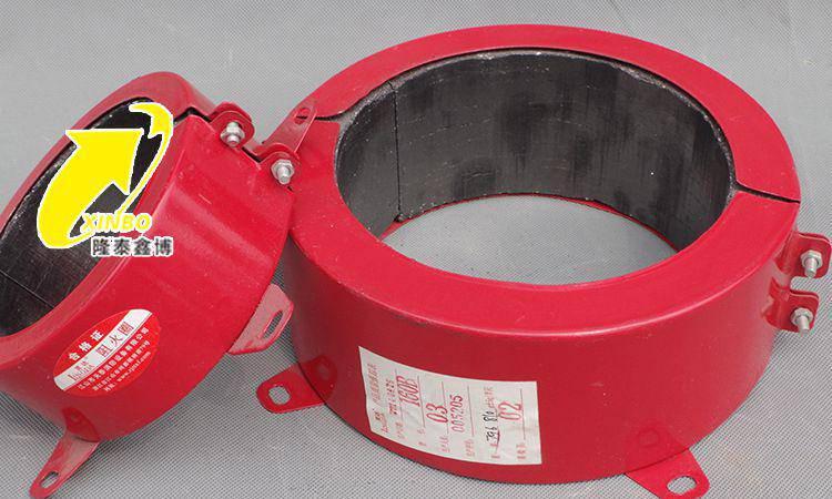隆泰鑫博热卖防火圈 50-100型阻火圈现货 3c认证红色防火圈价格